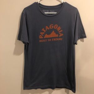 Patagonia Built To Endure Organic Cotton T Shirt